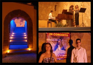 Concerto all'ex Tempio Santa Croce a Tuscania