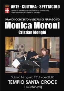 Concerto al Tempio Santa Croce Tuscania 16 agosto 2014