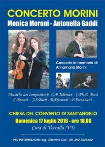 concerto per Annamaria Morini