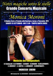 Monica Moroni Tuscania (VT) 15 Settembre 2018
